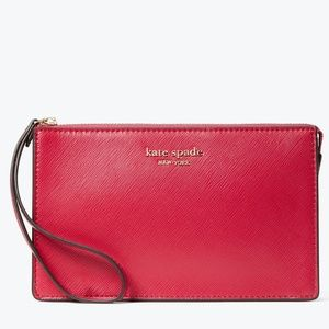 NWT~KATE SPADE~Sloan Saffiano Leather Wristlet